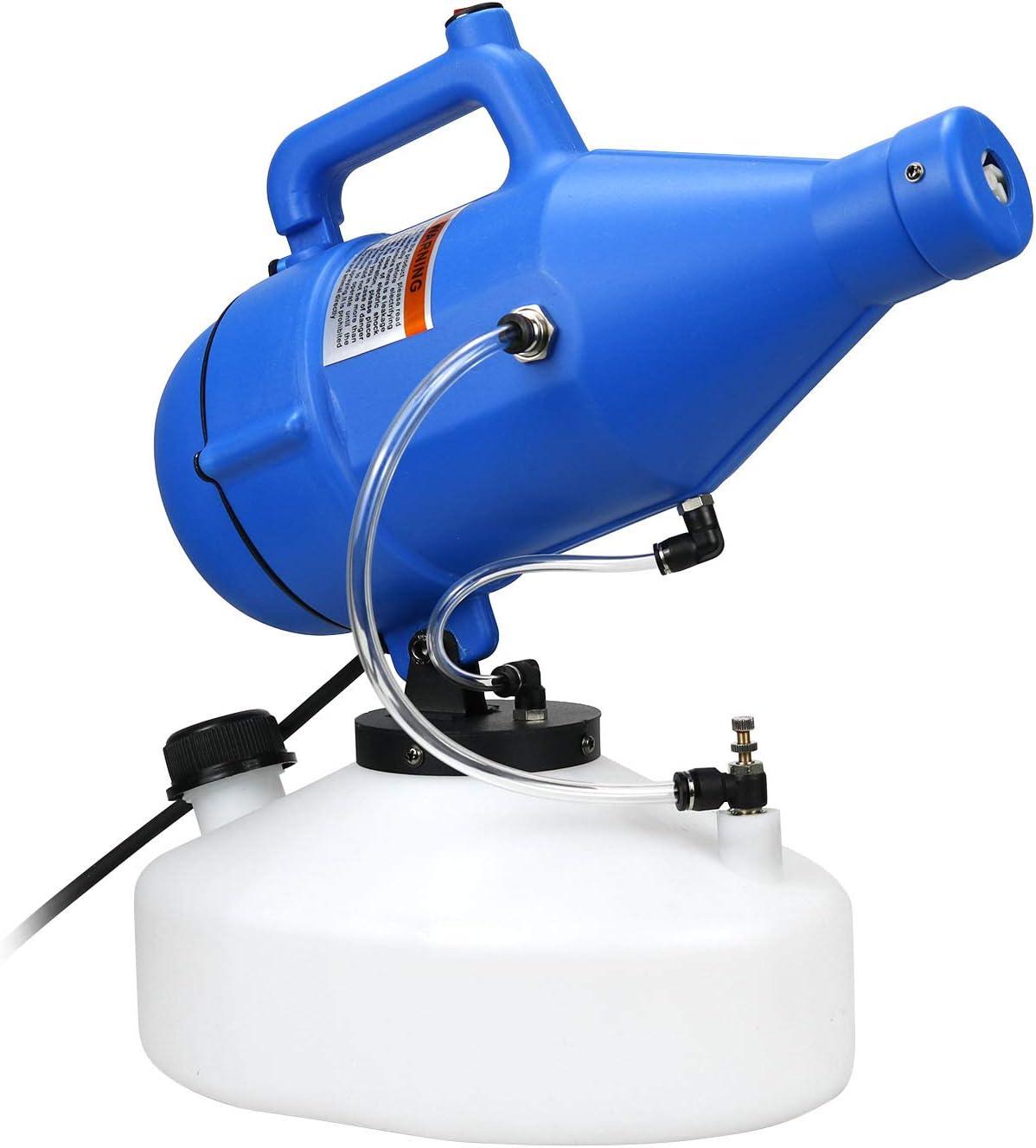 AILIKIWE Electric ULV Fogger Sprayer Machine,4.5L(1.2 Gallon) Handheld Atomizer Machine Mist Cold Fogger Suitable for Home,Garden,Hotel,Office,School,Station