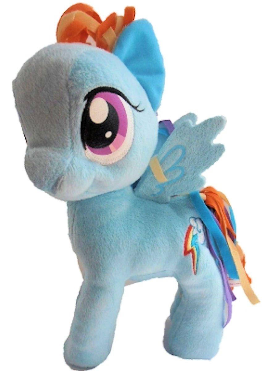 bienvenido a comprar My Little Pony Friendship Is Magic 11 Plush Plush Plush Figure Rainbow Dash by Hasbro  Envío 100% gratuito