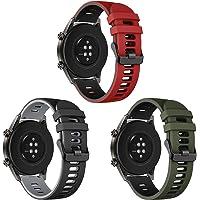 Songsier Riem Compatibel met Huawei Horloge GT2 Pro 46mm/Horloge GT 46mm/Horloge GT Active/Horloge 2 Pro/Galaxy horloge…