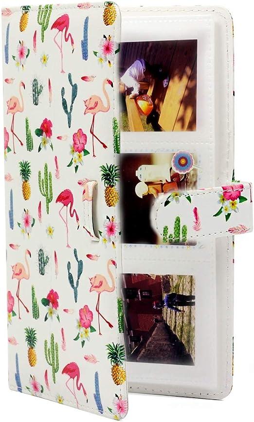 Estuche de cocina multifuncional Flamingo Cactus Pattern 3 pulgadas DIY PU Mini creatividad Tipo de inserción 32 páginas Exquisito álbum de fotos for Polaroid ,, Lugar: escritorios, mostradores y otro: Amazon.es: Hogar