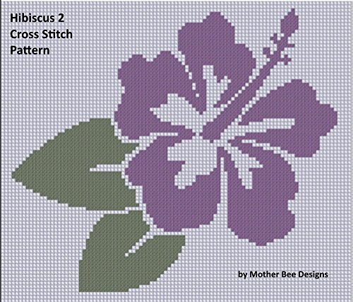 Embroidery Hibiscus (Hibiscus 2 Cross Stitch Pattern)