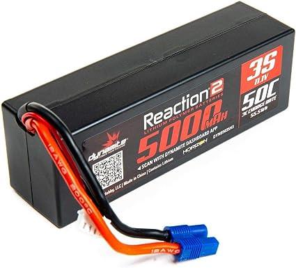 Dynamite Reaction 11.1V 5000mAh 30C 3S LiPo Hardcase EC3