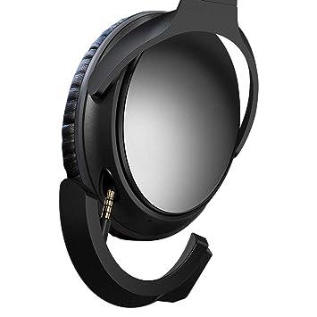 YOCOWOCO - Adaptador Bluetooth inalámbrico para Auriculares Bose QuietComfort QC 25 con micrófono y Control de