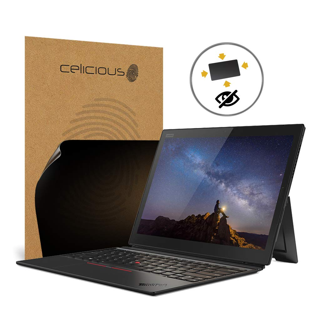 Celicious Privacy Plus 4-Way Anti-Spy Filter Screen Protector Film Compatible with Lenovo ThinkPad X1 Tablet 3rd Gen (with IR)