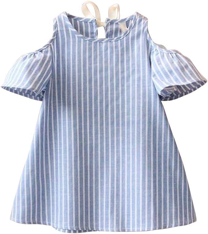 Amazon.com: Bebé Niñas Vestido Trajes, Moda Lindo Frío ...
