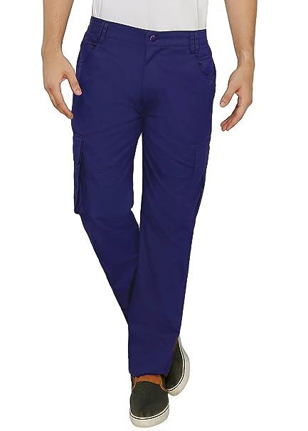 62aa68d737fa5 Ashdan Soft Stretchable Denim Cargo Pants With 6 Pockets And Side Waist  Elastic. 2 Multi
