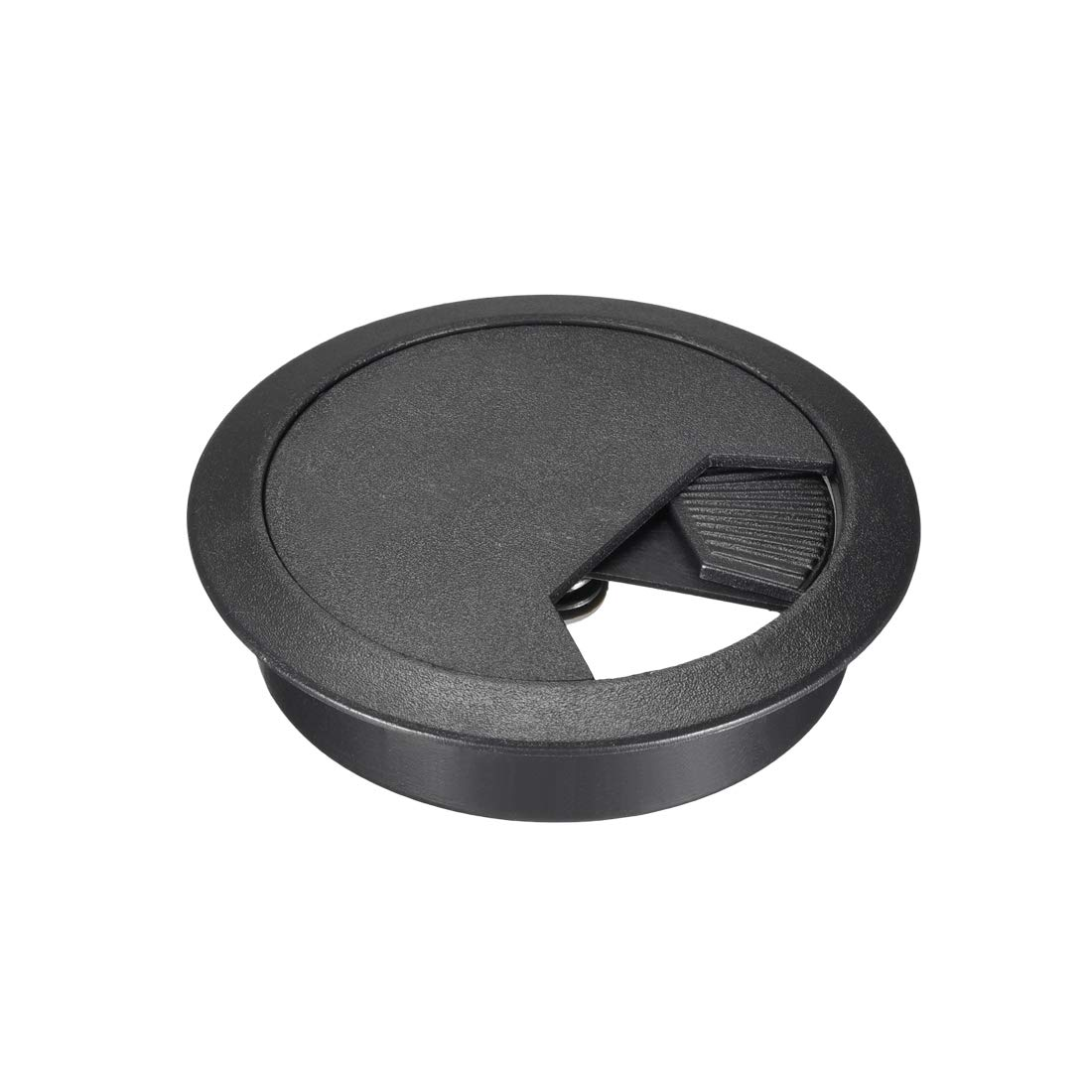 Black uxcell Cable Hole Cover 20 Pcs 2-1//8 Plastic Desk Grommet for Wire Organizer