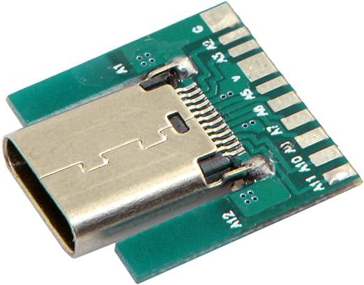 Jser Diy 24pin Usb 3 1 Typ C Buchse Stecker Smt Typ Mit Pc Board Computer Zubehör
