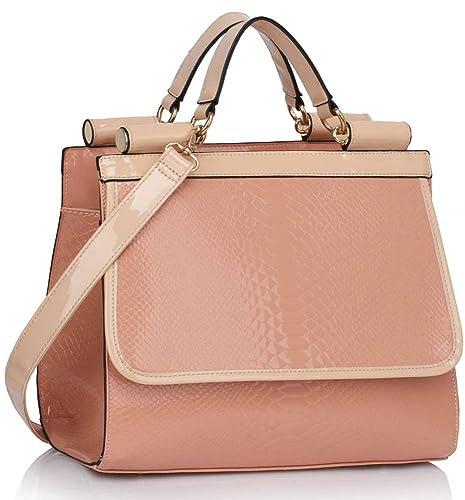TrendStar - Bolso estilo cartera para mujer beige Z - Nude: Amazon.es: Zapatos y complementos