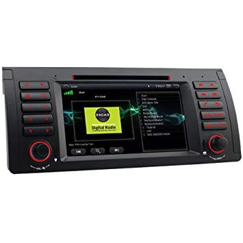 IAUCH Android 511 7 Inch Car Stereo DVD Player GPS Navigation Bluetooth Radio Sat