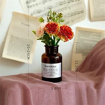 Licxcx Flores Artificiales Flor Artificial Flor Artificial de plástico Flor Seca Ramo embotellada decoración del hogar