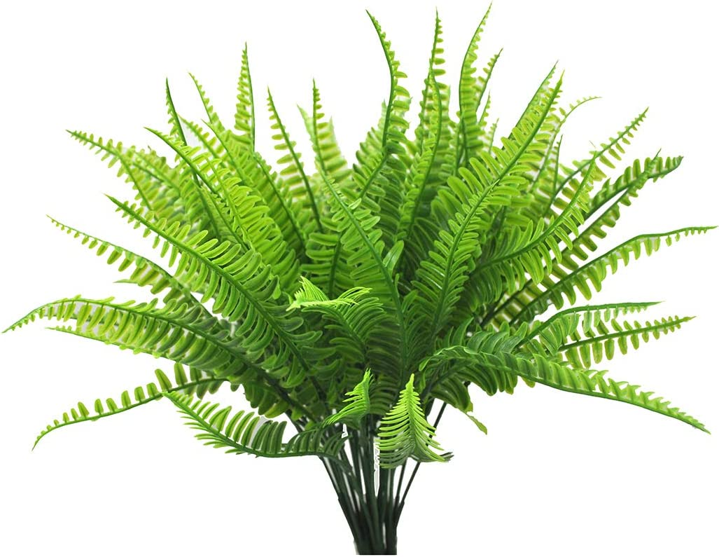 Artificial Boston Fern Plants