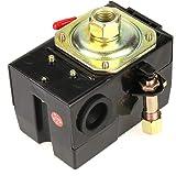 lefoo HD 22 Amp 105-135 PSI Air Compressor Pressure Switch Control All Metal Housing