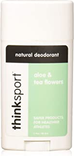 product image for Thinksport Deodorant, Aloe and Tea Flowers (2.9 ounce)