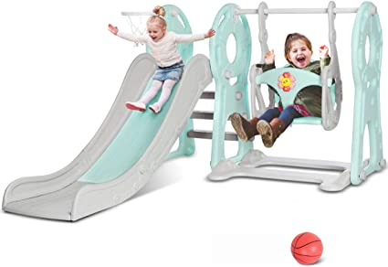 Childrens Garden Slide Kids Outdoor Fun Play Area Climbing Toy Large Fun Party