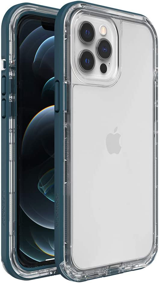 LifeProof Next Series Case for iPhone 12 Pro Max - Clear Lake (Clear/Corsair)