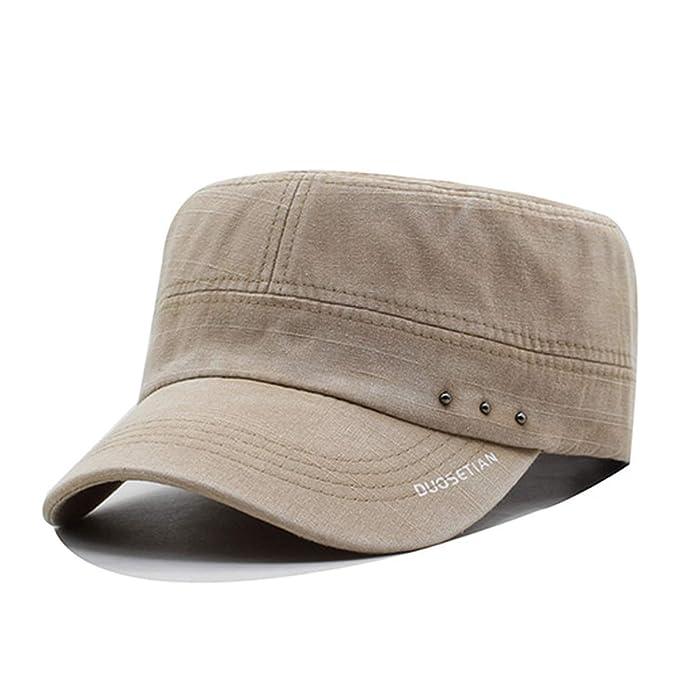 23310aef5c6647 Baseball Cap Men Hats for Men Snapback Caps Women Bone Brand Flat Blank Sun  Hat Adjustable Cotton Baseball Cap at Amazon Women's Clothing store: