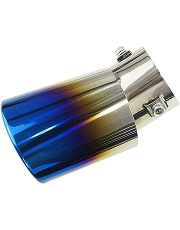 99020532 acero inoxidable acero de escape Silenciador para tuberías de punta de cola de decoración de