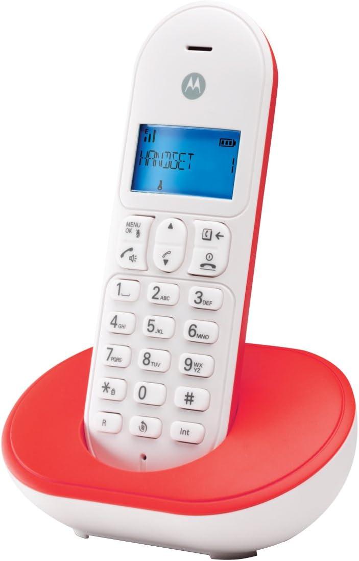 Motorola - Teléfono inalámbrico DECT: Amazon.es: Electrónica