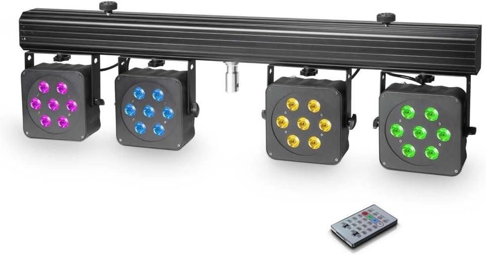 Cameo clmpar3 Multi par 3 Set de proyector LED con maletín de ...