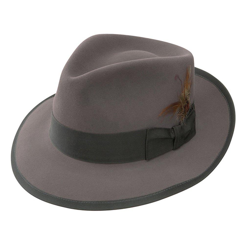 Stetson Men's Whippet Royal Deluxe Fur Felt Hat, Caribou, 6.875