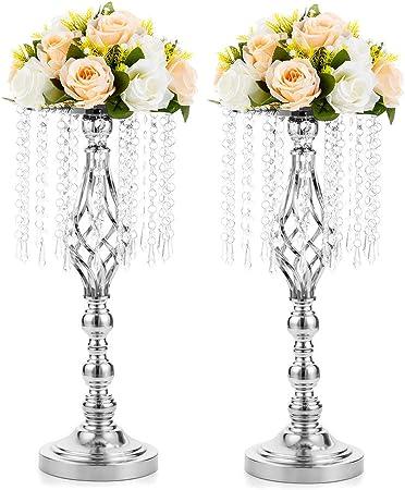 Vintage Metal candle stick Support Table De Mariage pièce centrale de Noël Décoration Maison