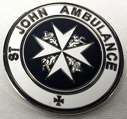 St John Ambulance TARDIS - Doctor Who Metal Lapel Pin Badge (St John Ambulance Sign)