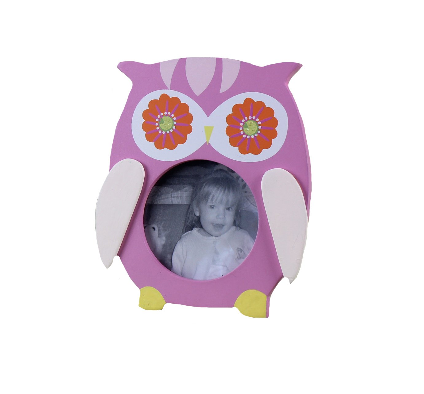 Youngs Owl 3-Photo Wood Frame 5.5-Inch Young/'s 22821