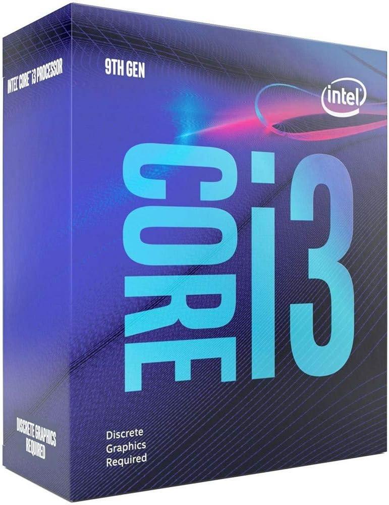 Intel Core 9th Gen i3-9100F - CPU sin Gráficos (6M Cache, hasta 4.20 GHz)