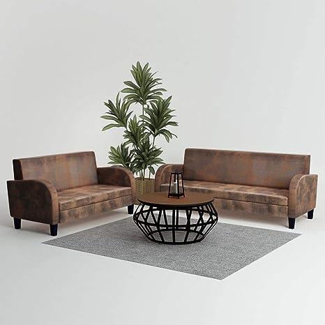 Tidyard Conjunto de sofás Conjunto Muebles para salón jardín ...