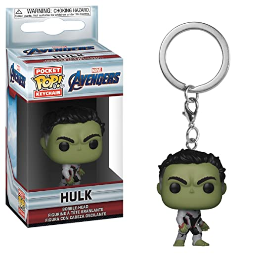 Horror-Shop Avengers Endgame - Llavero Hulk Funko Pop ...