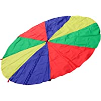 Imported 4M Kids Play Rainbow Parachute Outdoor Game Family Exercise Sport Toy