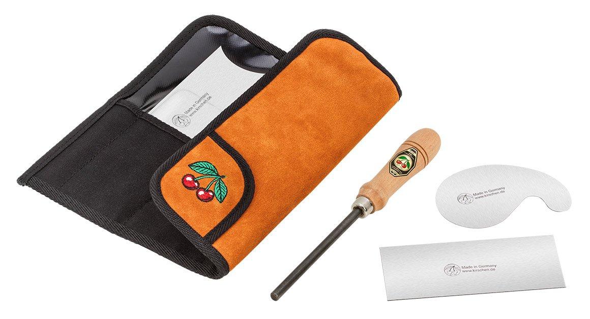 Naranja//Plateado//Negro /3823000/armario juego de Rasquetas Kirschen/ 3/piezas