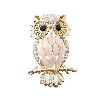 recherche de liquidation nouvelle version Los Angeles Broche Vintage en forme de chouette Antique bijoux de la ...