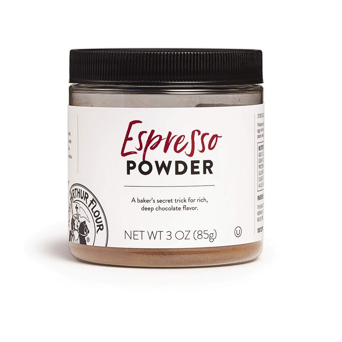 King Arthur Flour Espresso Powder, 3 oz, for cakes, cookies, or all types baking