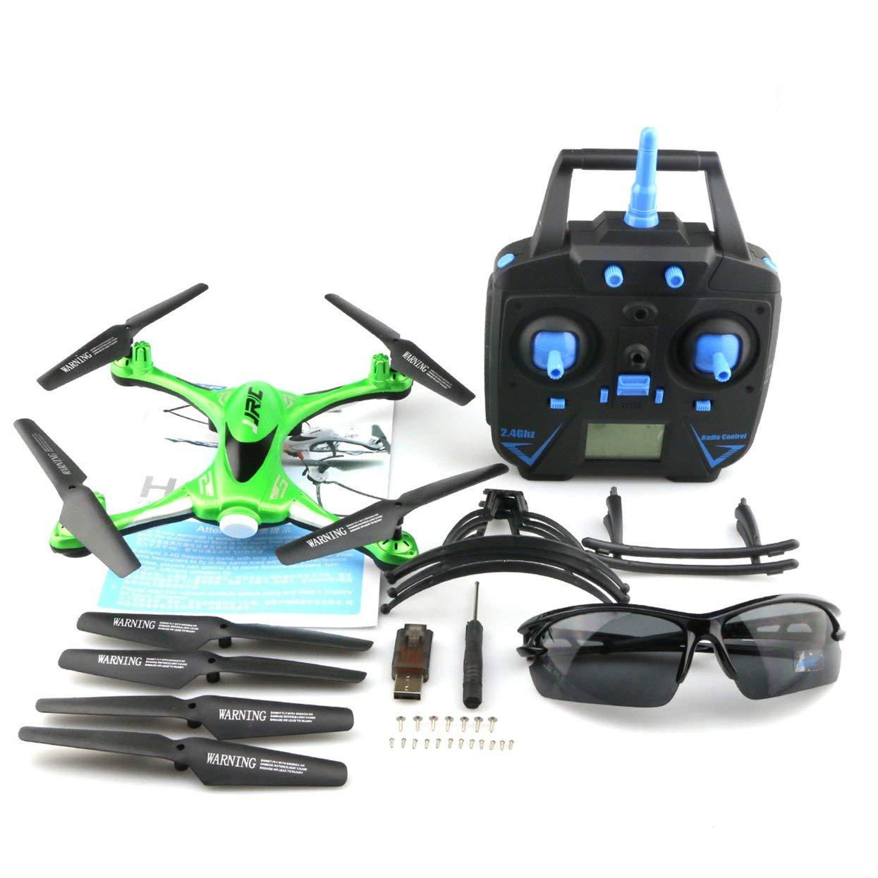 JJR C H31 2,4 GHz 4CH 6-Achsen-Gyro RC Quadcopter Wasserdicht Wasserdicht Wasserdicht RTF Mini-Drohne mit CF Headless Modus One-Key Return   3D Flip & Roll f324b3