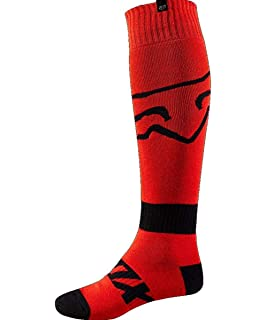 Fox Racing Fri Thin - Race Mens MotoX Motorcycle Socks - Red/Small