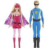 Barbie in Princess Power Super Hero 2 Pack Duo Set Barbie & Ken Doll Set CHG37