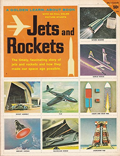 Jet Binder (Jets and Rockets A Golden Learn-About Book With 48 Full Color Stamps)