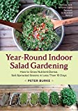 indoor vegetable garden ideas Year-Round Indoor Salad Gardening: How to Grow Nutrient-Dense, Soil-Sprouted Greens in Less Than 10 days