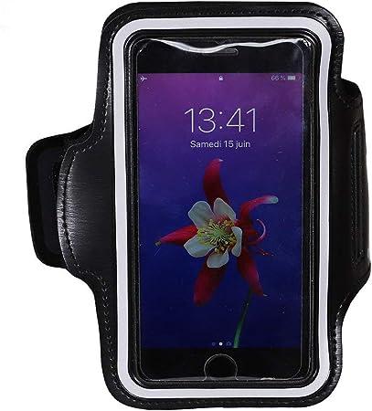 MELELILYA/® Brassard pour Smartphone Attache pour C/âble Porte-Cartes avec Sangle Ajustable Brassard de Sport Compatible avec Blackview BV9600 Pro avec Porte-Cl/és
