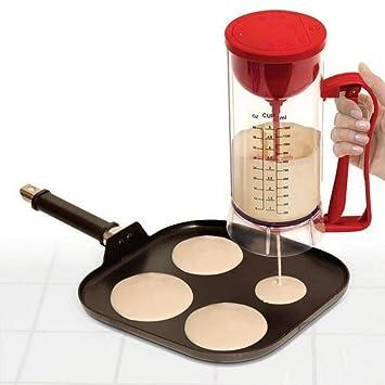 Yiwa Batidoras de vaso-El huevo eléctrico del agitador de la goma bate la licuadora del fabricante de la espuma de la taza para el aparato electrodoméstico ...