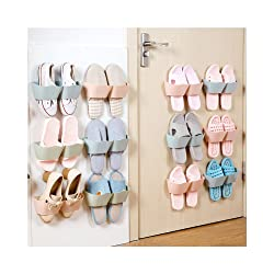 16. Huluwa Wall Mounted Shoes Rack