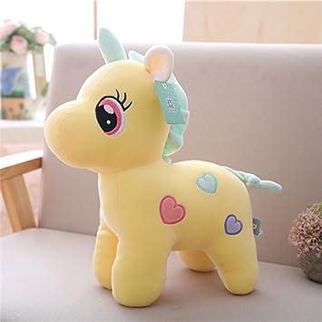 Amazon Com Mini Cute Cartoon Unicorn Plush Toys Pp Cotton Stuffed
