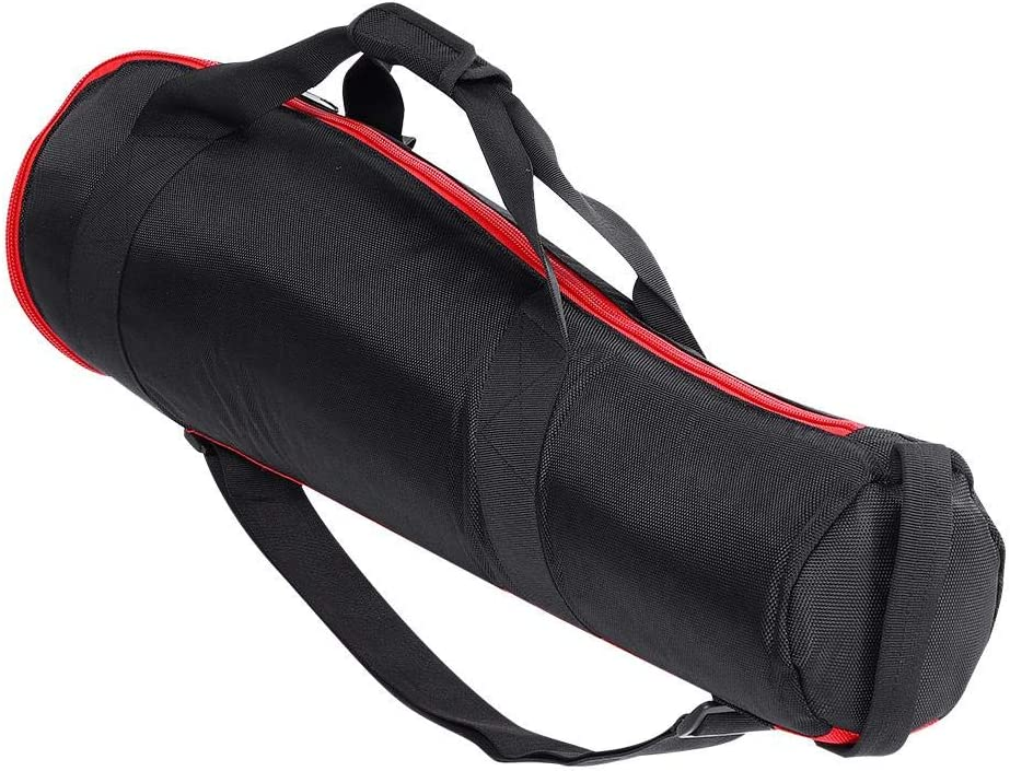 DS-65 Monopod Storage Bag Nylon Cloth Padded Portable Tripod Monopod Carrying Case Handbag with Adjustable Shoulder Strap for Manfrotto