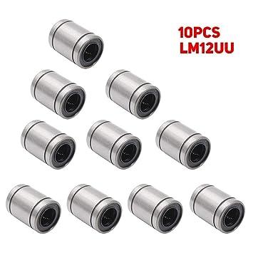 LM12UU Rodamiento lineal 12 x 20 x 30 mm Rodamientos de bolas de ...