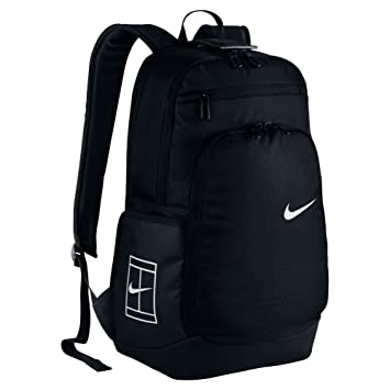 Nike Court Tech Backpack 2.0 Mochila, Hombre, Negro/Blanco Black/White, Talla Única: Amazon.es: Deportes y aire libre