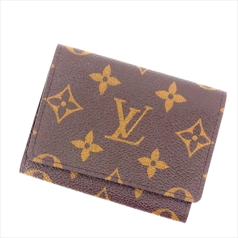 [ルイヴィトン] Louis Vuitton 名刺入れ メンズ可 アンヴェロップカルトドゥヴィジット M62920 モノグラム 中古 Y212 B0772P2QHH