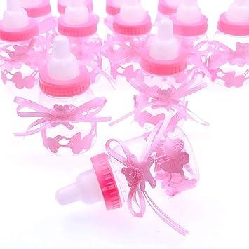 Amazon.com: JZK - 24 cajas de regalo rosas para botellas ...