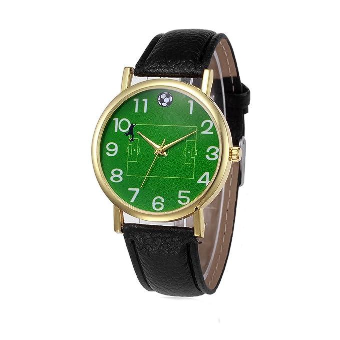 Reloj de Pulsera con diseño de balón de fútbol, 364: Amazon.es ...